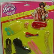 Mint On The Original Card, Mattel Barbie Finishing Touches Hair Fun, 1982!