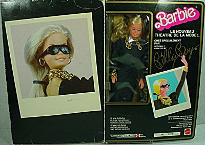 Rare 1985 Barbie Le Nouveau Theatre De La Mode Mib