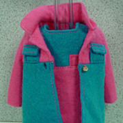 Mattel Skipper Outfit, Twice As Nice, Excellent and Complete, 1970.
