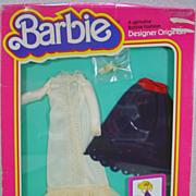 """NRFB Mattel Barbie Designer Originals Outfit, """"Fun ' Fancy, 1981"""