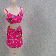 """Mattel Barbie Outfit, """"Underprints"""", 1967."""