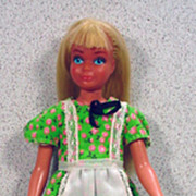 Mattel 1978 Sun Lovin' Malibu Skipper Doll in Best Buy Dress