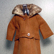 Mattel Barbie Outfit, It's Cold Outside, Excellent, Complete, 1964!