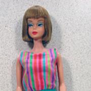 Long Hair High Color American Girl Barbie, Mattel, 1966!