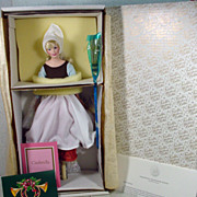 NRFB Franklin Heirloom Poor Cinderella Porcelain Doll!