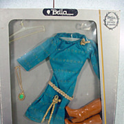 "NRFB French Bella 19"" Cathie Doll Outfit, 1970's, Rare!"