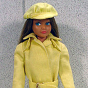 Mattel Brunette Skipper in Rain or Shine Outfit, 1964