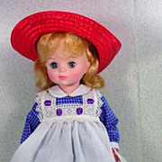 Madame Alexander Pollyanna Doll, 1980's.