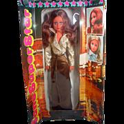 Rare NRFB Furga Jane Super Star (Jane Fonda) Fashion Doll, Italy, 1970's!