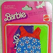 MOC Mattel Barbie Best Buy Fashion, #2219, 1976!