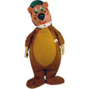 "25"" Huckleberry Hound Plush Figure, 1959, Knickerbocker, Toys!"