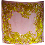 SOLD Beautiful Vintage Silk Chanel Ladies Scarf, A Classic!