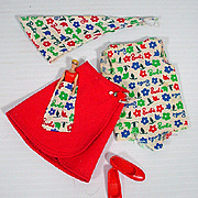 Vintage Mattel Skipper Outfit, Day At The Fair, 1965