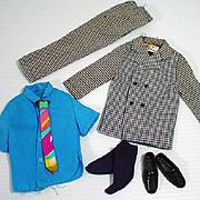 Vintage Mattel Ken Outfit, Big Busiiness, Complete, 1970