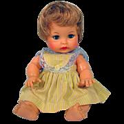 "Ideal 9"" Vinyl Baby Doll, 1964"