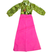 "1970's Maxi Mod 11 1/2"" Fashion Doll Outfit, M&S Shillman"