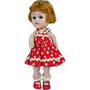 Vogue 1958 Bend Knee Ginny Doll in Sun Dress
