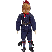W.P.A. Doll, Rubber Faced Boy, All Original