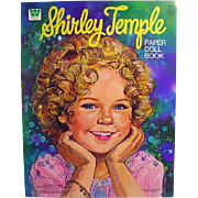 Whitman Un-Cut Shirley Temple Paper Doll Book, 1976