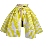 SOLD Madame Alexander Elise Cotton Wrap Skirt, 1950's