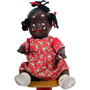 SOLD 1930's Black Composition Baby Doll!