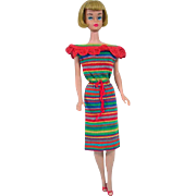 Mattel Vintage Barbie American Girl Doll, 1965
