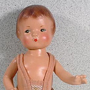 1930 Effanbee  Composition Patsyette Doll in Original Knit Bathing Suit