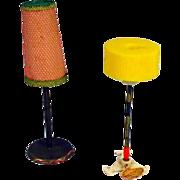 German 1950's Bild Lilli Size Lamps