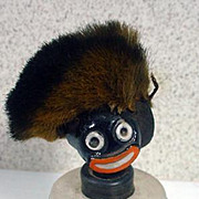 Vintage Vigny  Art Deco Perfume Bottle, Golliwog, 1930's, French