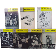 Collection of Original 1960's Broadway Playbills