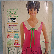 """SOLD Vintage McCall's 1965 """"Pop Looks"""" Pattern Catalog"""