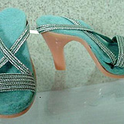Madame Alexander Cissy High Heel Shoes, 1950's-60's