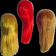 Vintage Mattel Color Magic Barbie Wigs, 1960's
