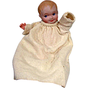 Antique Bisque Head Nippon Baby Doll, 1920's, 7 1/2""