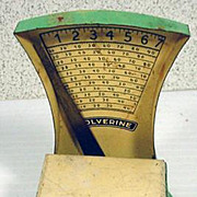 Miniature Tin Wolverine Working Scale, 1930's