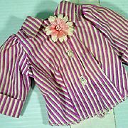 Vintage Madame Alexander Cissy Striped Blouse, 1957