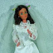 Mattel Barbie Friend, Tracy Bride Doll, 1982