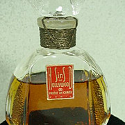 SOLD 1940's Commercial Perfume Sins of Hollywood, Prince De Chany Paris!