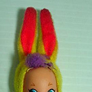 Mattel Holiday Kiddle, Funny Bunny, 1968