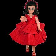 "1950's 20"" Brunette Fashion Doll"
