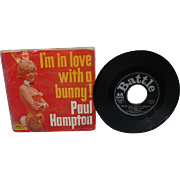 """Rare 45 RPM Record, """"I'm in love with a bunny (at the Playboy Club ..."""