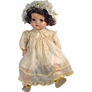 """Madame Alexander 24"""" Little Genius Composition & Cloth Baby Doll, 1930's"""