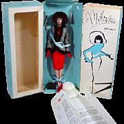 """MIB Mdvanii Doll by Billyboy, """"Tour Eiffel"""" FAO SCHWARZ Exclisive, 1991"""