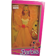 NRFB Mattel Peaches 'N Cream Baribe Doll, 1984