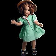 "R&B Nancy Lee, 17"" Composition Doll, 1940's"