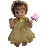 American Character Butterball, Baby Doll, 1961, Rare