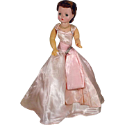 Vintage Madame Alexander Cissy Doll in Ball Gown, 1950's