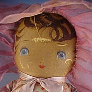 1930' Georgine Cloth Doll, all original