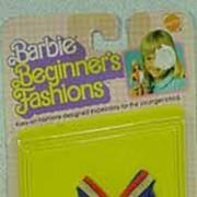 NRFP Mattel Barbie Beginner's Fashions from 1979.