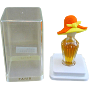 SALE Rose Valois Figural Perfume Bottle and Case